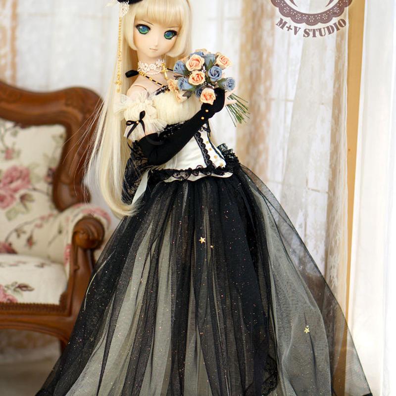 DD SD16サイズ ドルフィードリーム服 ドレスセット