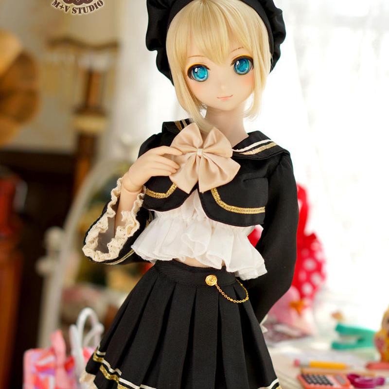 DDサイズ Dollfie Dream セーラー服 コスプレセット