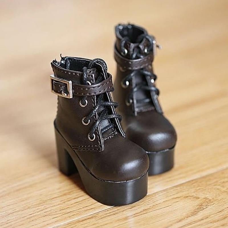 MDD ミニドルフィードリーム 靴 ショートブーツ (ブラウン)