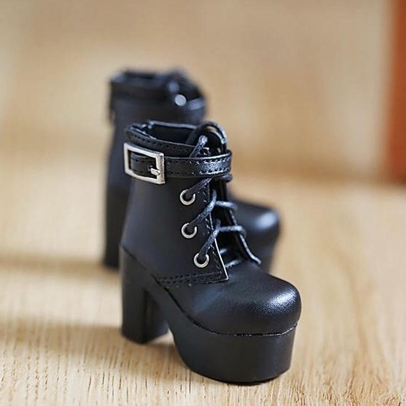 MDD ミニドルフィードリーム 靴  ショートブーツ (ブラック)