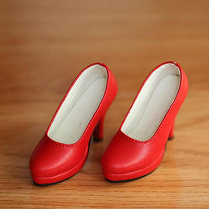 DD,DDS,DDDY,SD ドルフィードリーム靴 シンプルパンプス(レッド)