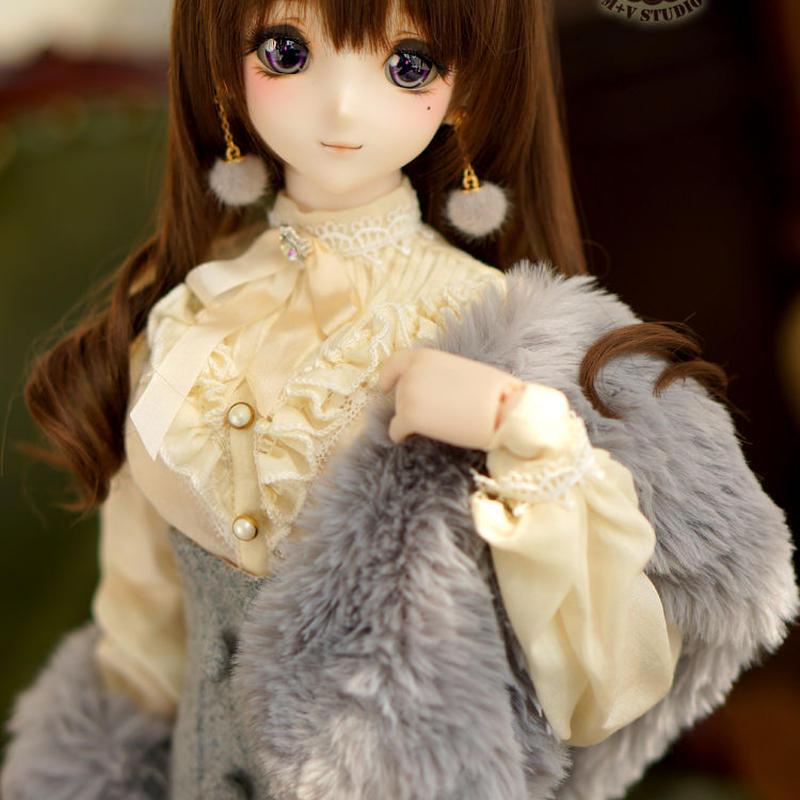 DD,1/3サイズ ドルフィードリーム お姉系 洋服セット