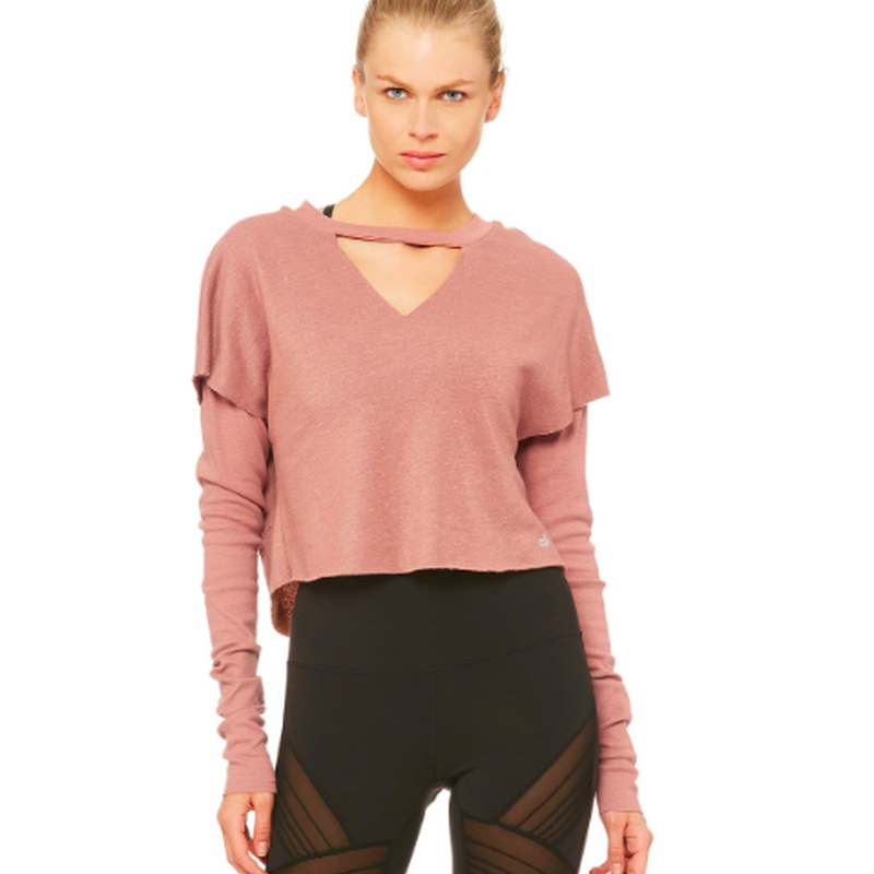 aloyoga  Reach Long sleeve Top