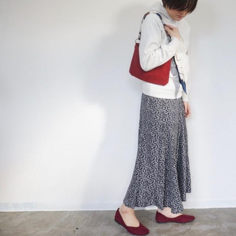 APPRECIATIVE flower print maxi skirt