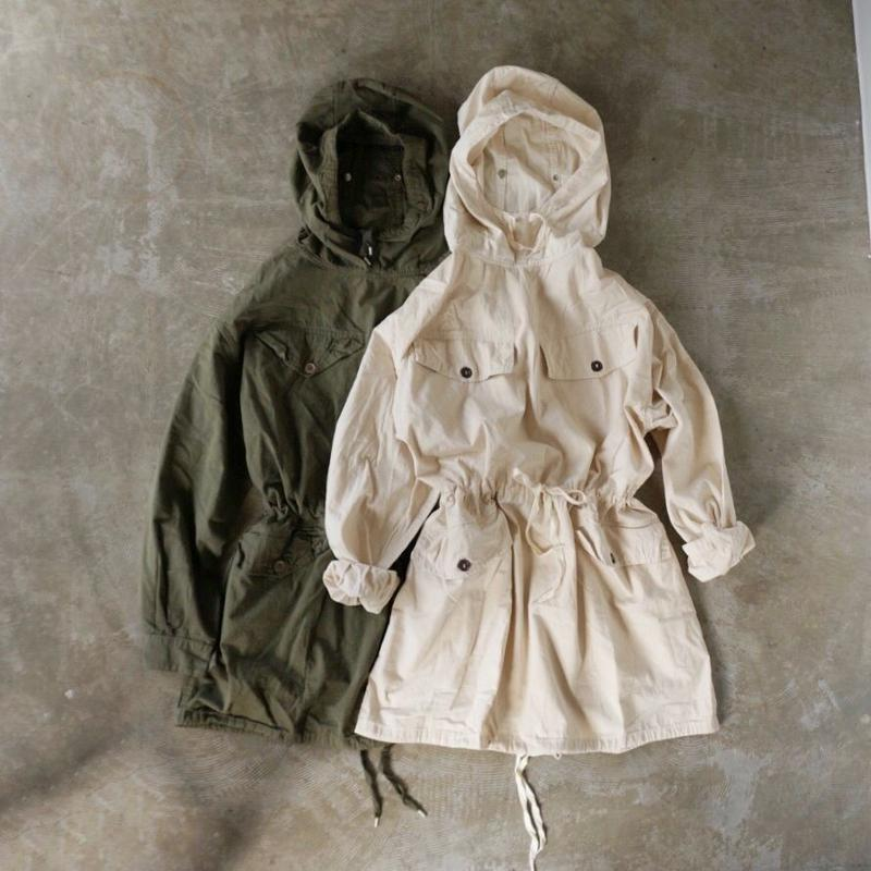 French military anorak parka