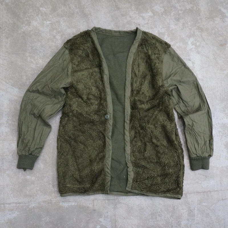 Used netherlands boa linner jacket OLIVE
