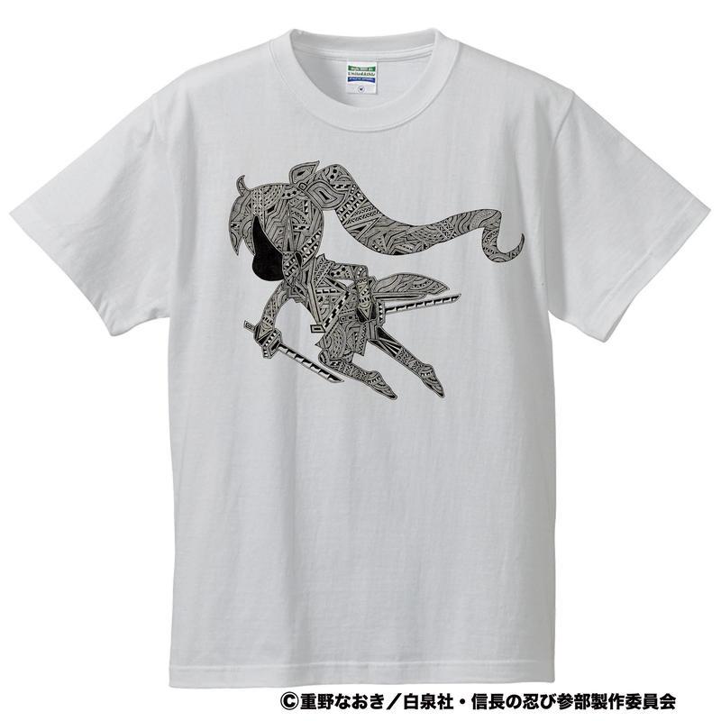 信長の忍び×Apsu コラボTシャツ