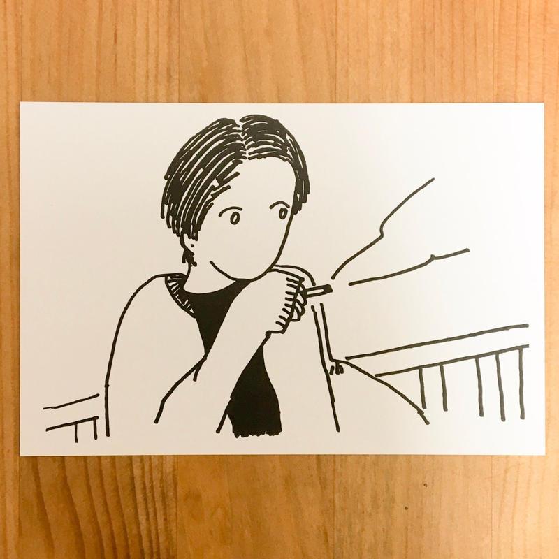 ポストカード(ちょいと一服)