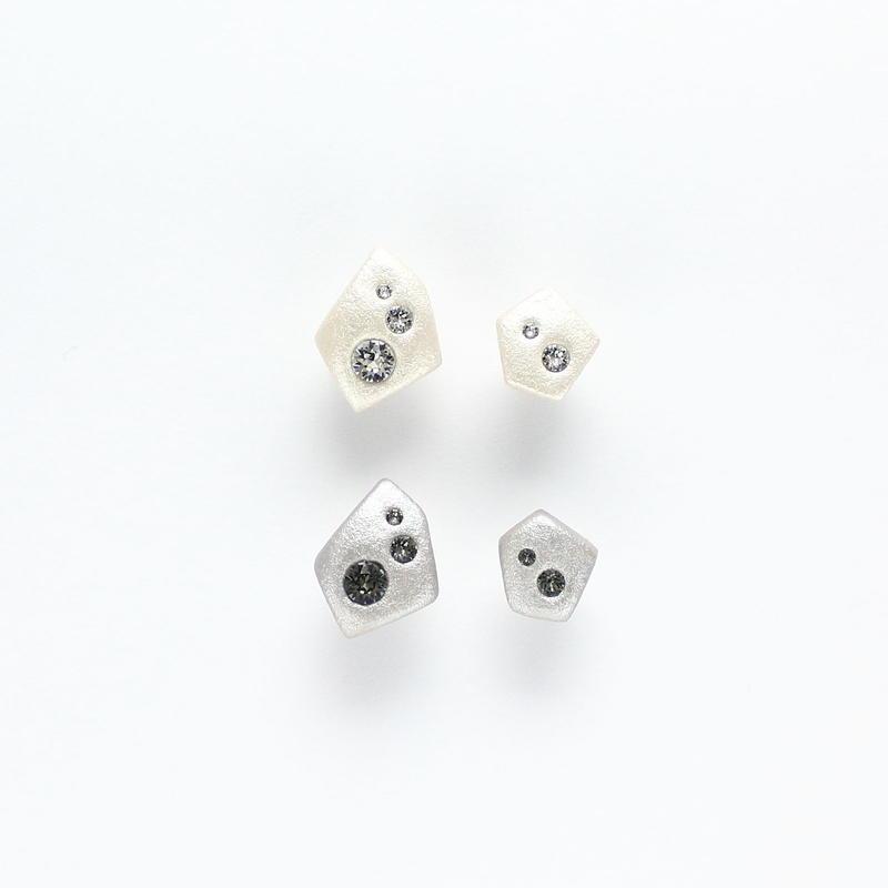P1508W / P1508GY ピアス / E1508W / E1508GY イヤリング