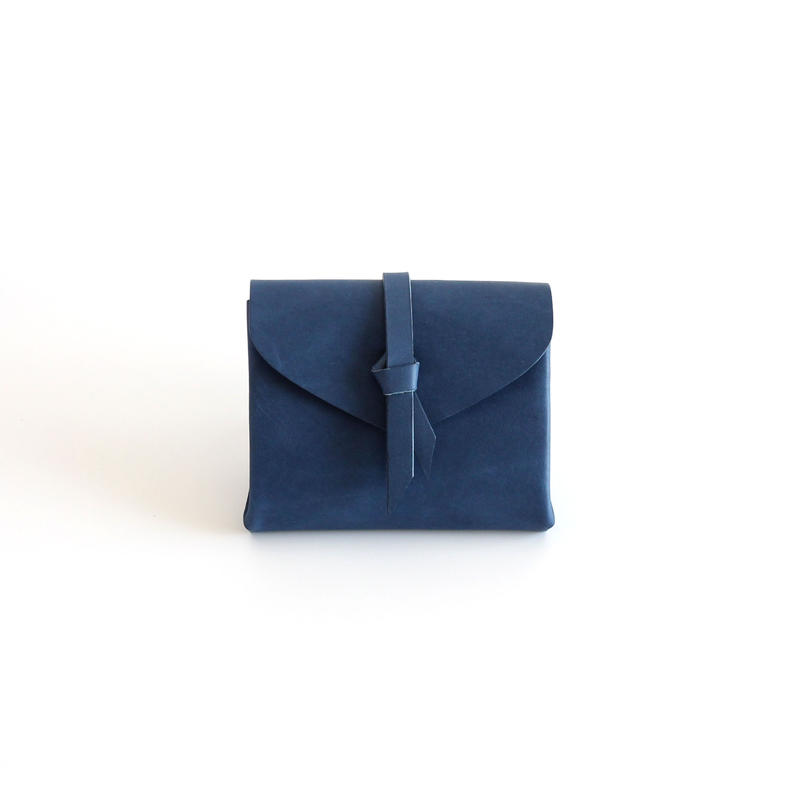 [style&things]  ori short wallet #navy