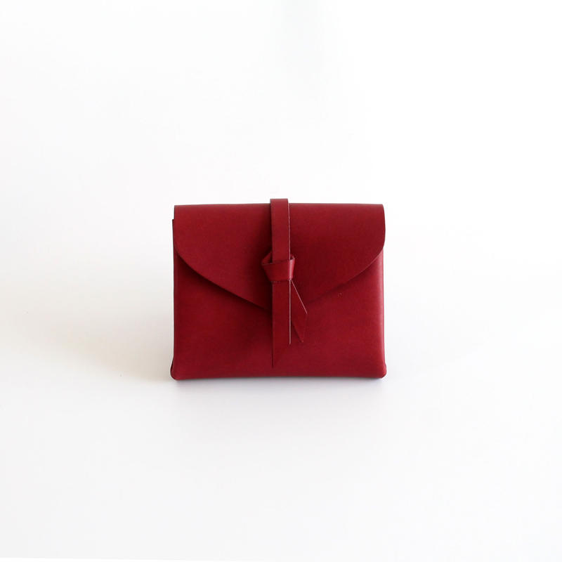 [style&things]  ori short wallet #wine