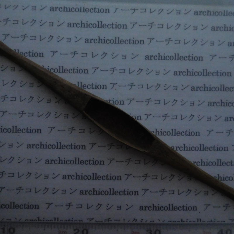 織り 織機 シャトル 杼 ストアーズno. 121 4.6x3.5x2.2cm shuttle 木製 オールド コレクション  のコピー