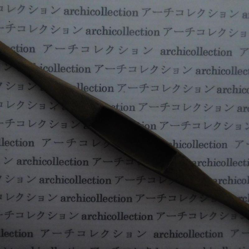 織り 織機 シャトル 杼 ストアーズno. 138 4x3.5x2.5cm shuttle 木製 オールド コレクション  のコピー