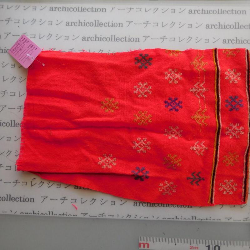 Hmong モン族 はぎれno.299  30x21 cm 刺繍布 古布 山岳民族 hilltribe ラオス タイ
