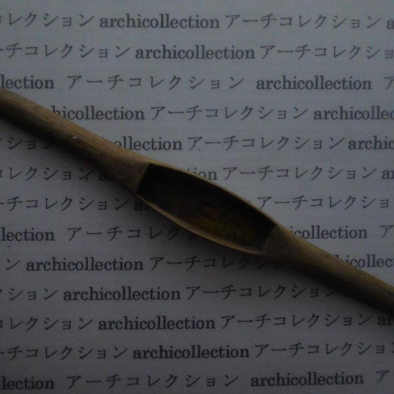 織り 織機 シャトル 杼 ストアーズno.102 3.6x3.2 cm shuttle 木製 オールド コレクション  のコピー