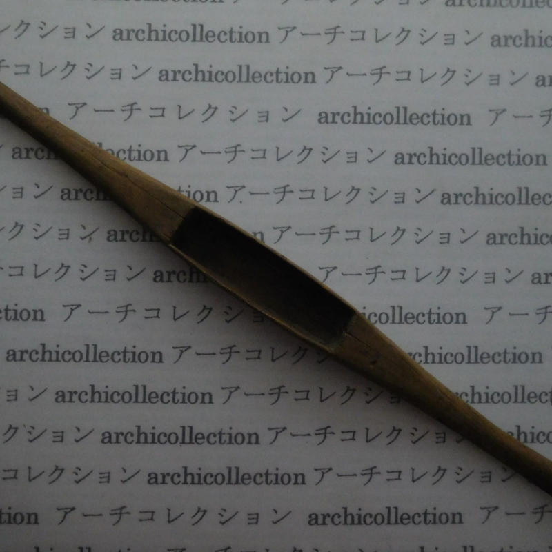 織り 織機 シャトル 杼 ストアーズno.66 4x3.2x2 cm shuttle 木製 オールド コレクション  のコピー
