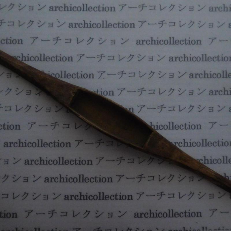 織り 織機 シャトル 杼 ストアーズno.91 4.7x3.5x2.4x cm shuttle 木製 オールド コレクション  のコピー