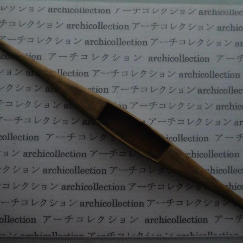 織り 織機 シャトル 杼 ストアーズno.56 4.6x3.6x2.5 cm shuttle 木製 オールド コレクション  のコピー
