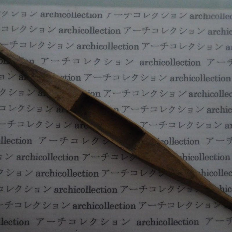 織り 織機 シャトル 杼 ストアーズno.100 4.5x3.7x2.8 cm shuttle 木製 オールド コレクション  のコピー