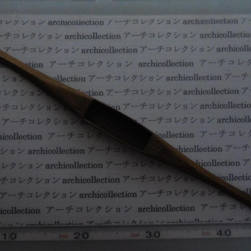 織り 織機 シャトル 杼 ストアーズno.141 5.5x3.6x2.2 cm shuttle 木製 オールド コレクション  のコピー