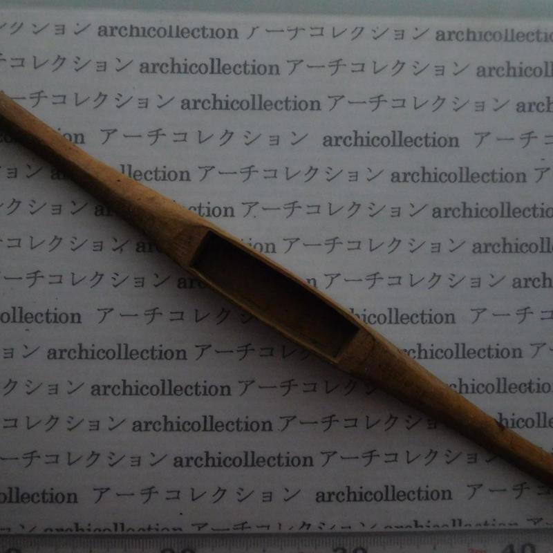 織り 織機 シャトル 杼 ストアーズno.97 4.7x3.2x2.8 cm shuttle 木製 オールド コレクション  のコピー