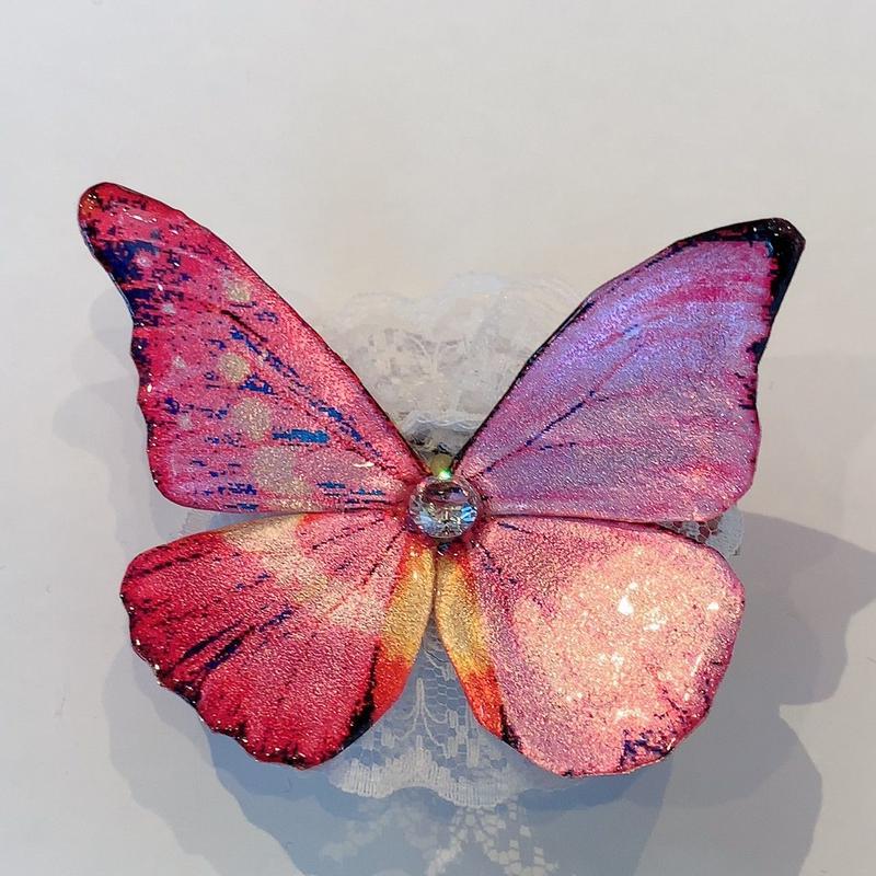 GHOTHIC HOLIC/ゴシックホリック【桜祭り】 舞い踊る蝶々クリップ208