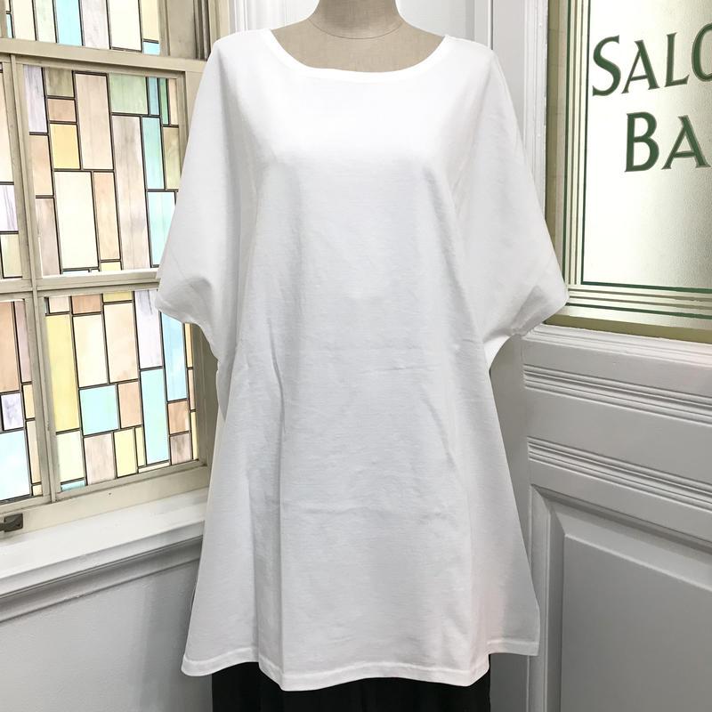 CuLLt/カルト ワイドTシャツ ジオメトリック ホワイト