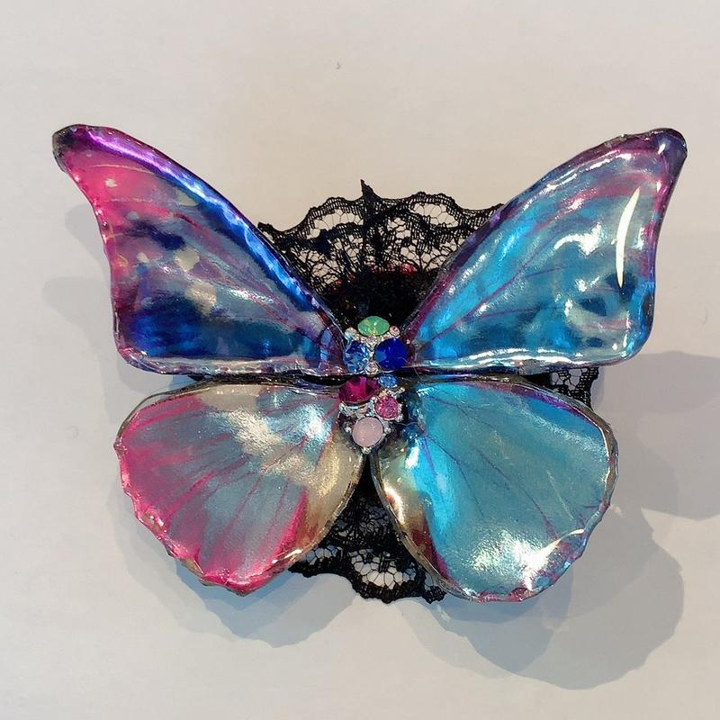 GHOTHIC HOLIC/ゴシックホリック 舞い踊る蝶々クリップ214