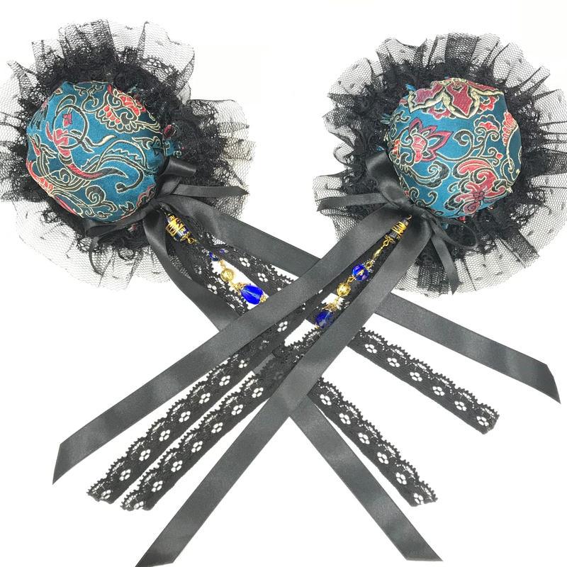 estrelleas/エストレージャス 双飾髪飾りD02 青