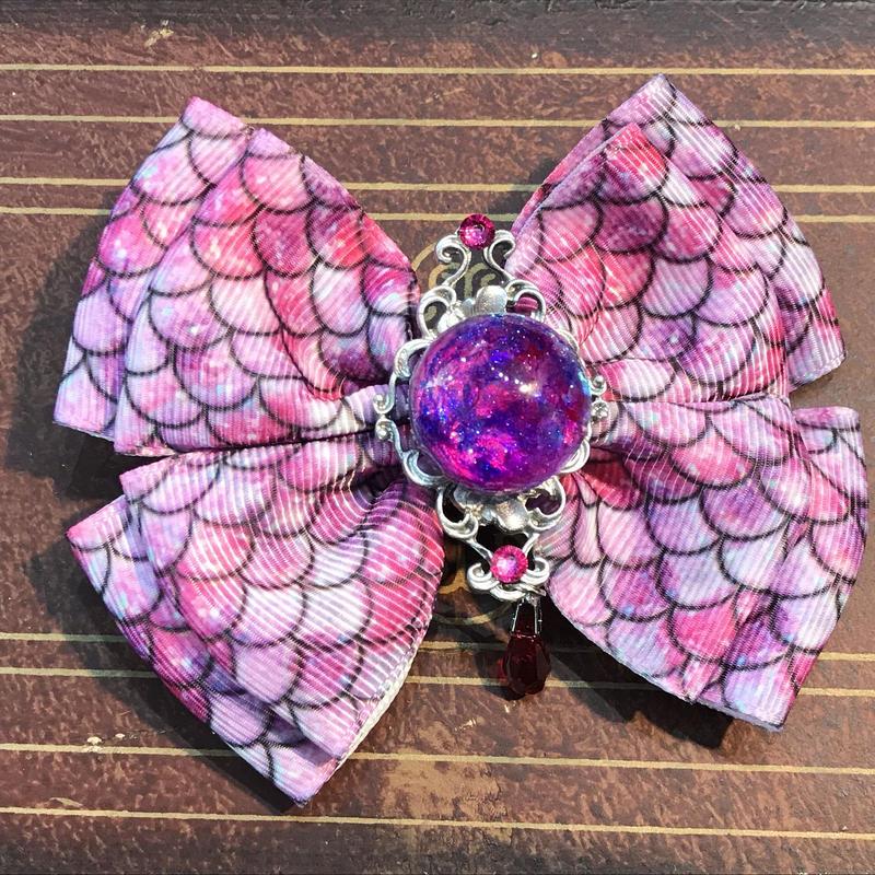 N0.96/ナンバークロ 紫陽花のおりぼん RB-D7 ピンク