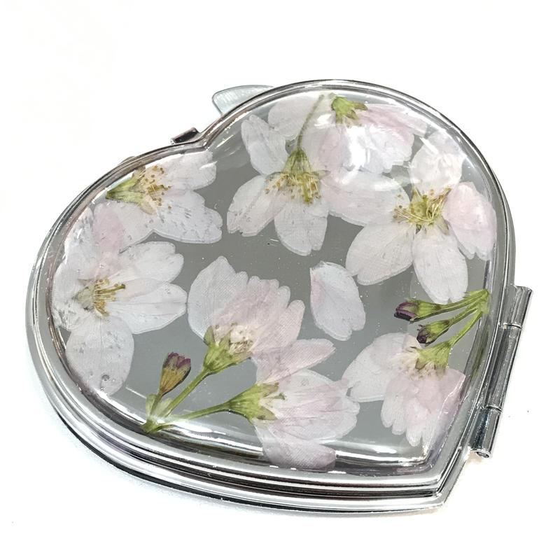 Limon 桜のコンパクトミラー 8