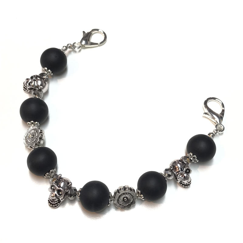 Phantom Jewelry/ファントムジュエリー 鬼髑髏の羽織紐(またはマルチチェーン)