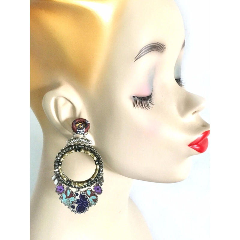 "Earrings ""AYALA BAR"" Hip 270 - ピアス アヤラ・バー"