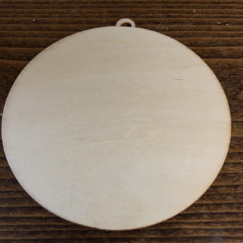 はんこ素材:ウッドプレート