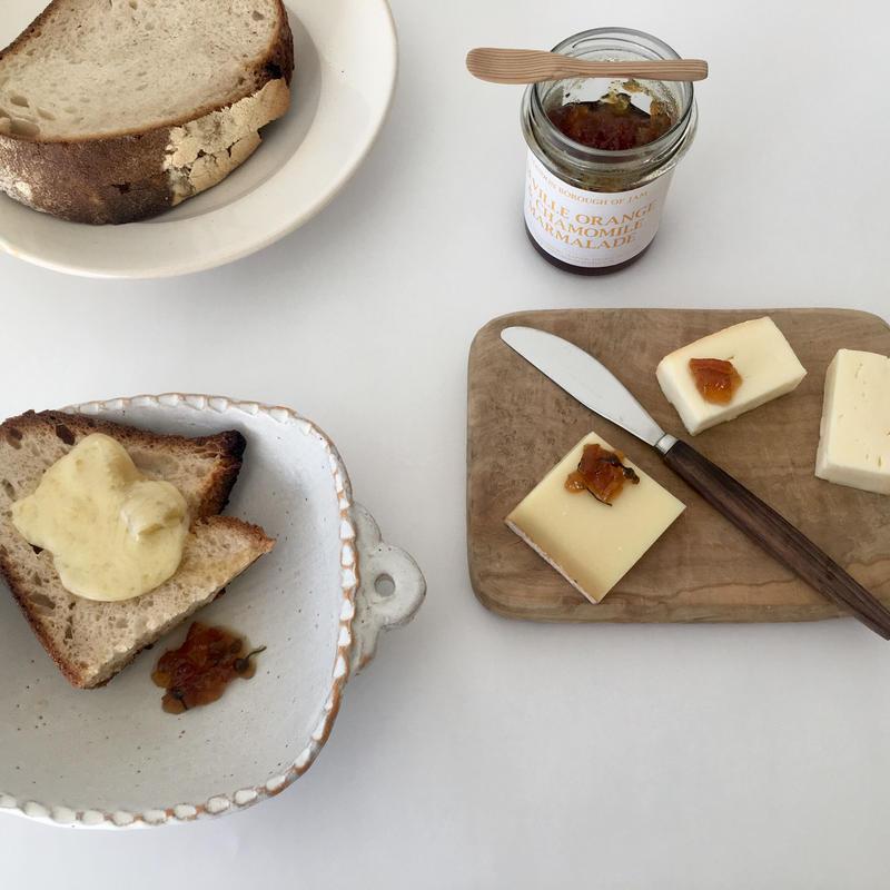 セビルオレンジとカモミールのマーマレード+チーズ2種