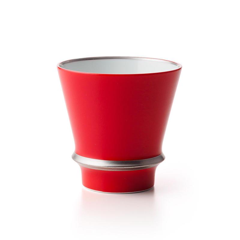 レッド銀線 −至高の焼酎グラス−
