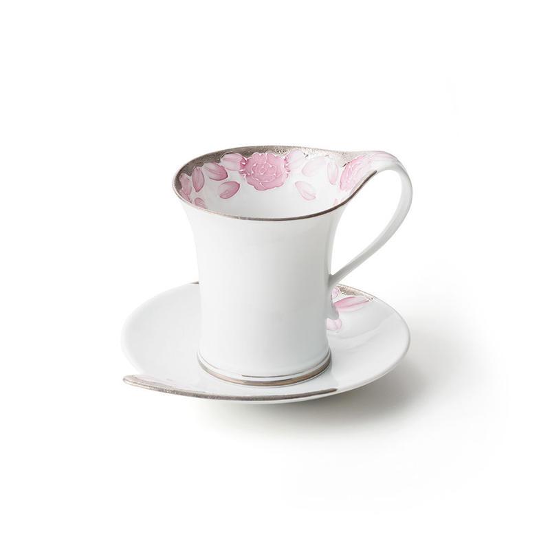 プラチナローゼ(マロン)−流転− カップ&ソーサー