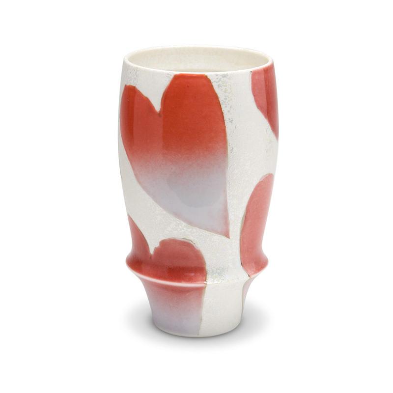 バレンタイン(赤)−プレミアムビアグラス−