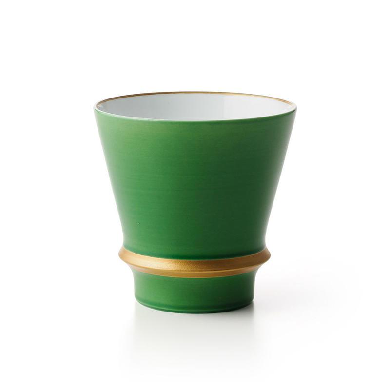 グリーン金線 −至高の焼酎グラス−
