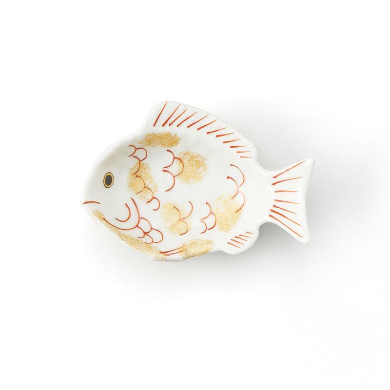 錦金 鯛形小付
