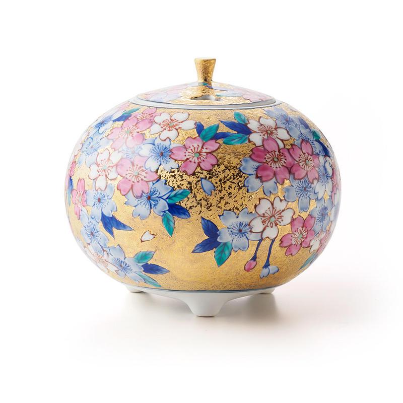 金彩 桜 -sakura- 香爐