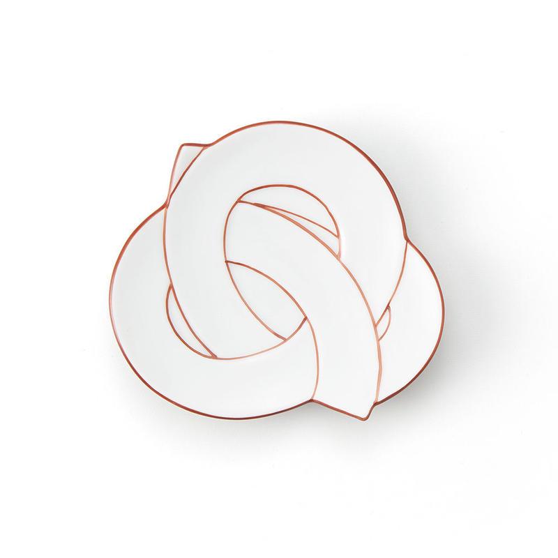 むすび小皿 赤線