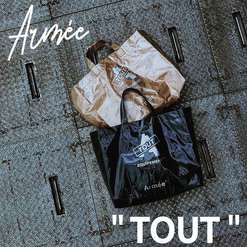 "Armée ""TOUT"" トートバッグ"