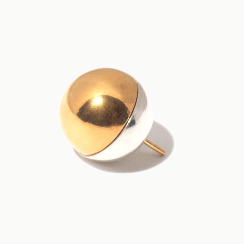 Sphere shaped earring | Gold/Silver