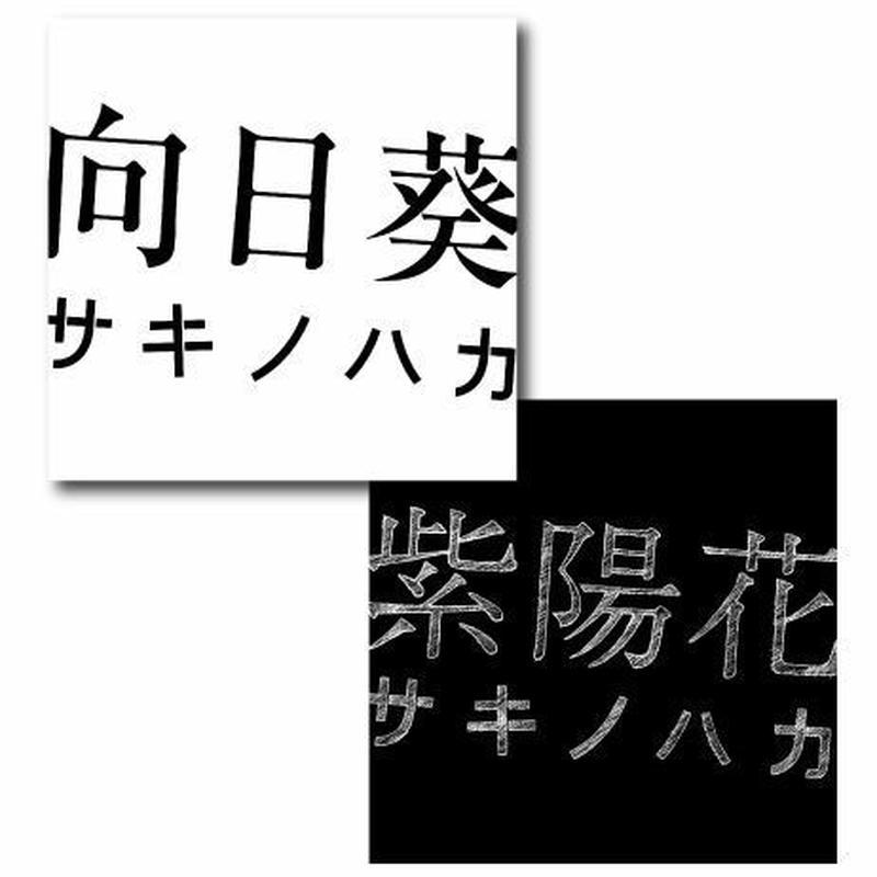 サキノハカ【向日葵/紫陽花】CD 2枚セット