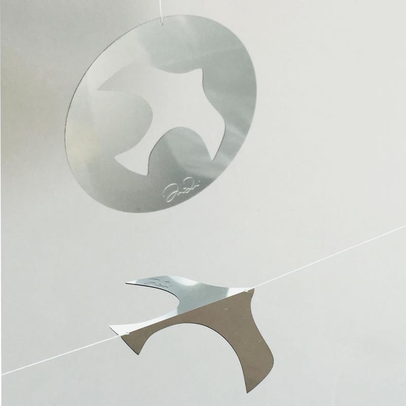 Art & Brakfast Flying Bird Mobile #Moon