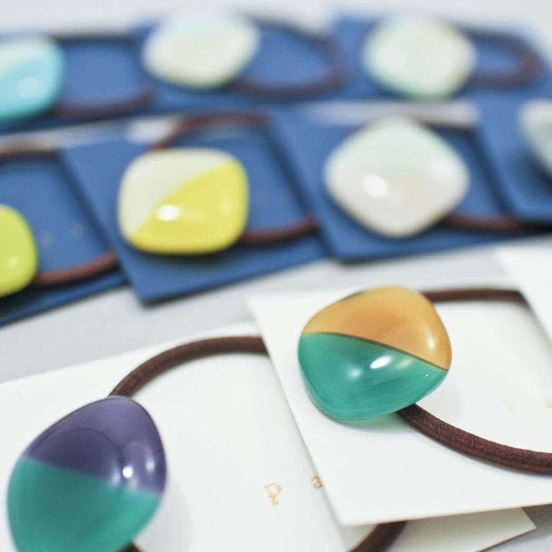 ヘアゴム・2color / glass house pase'