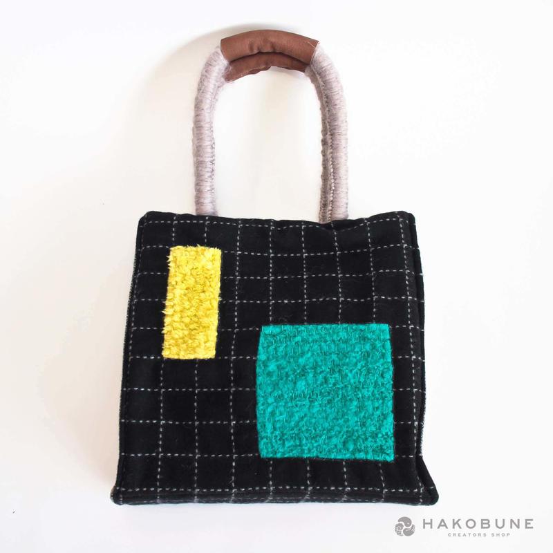 織る編む縫うBag #4 / majibon