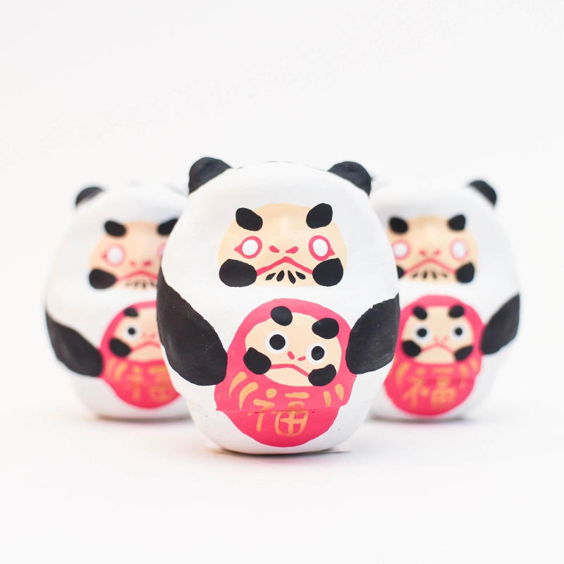 パンダだるま / 山口さくら