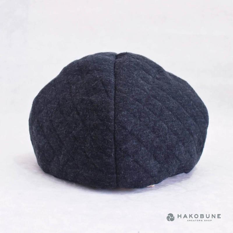 ベレーなお帽子 キルティング majibon